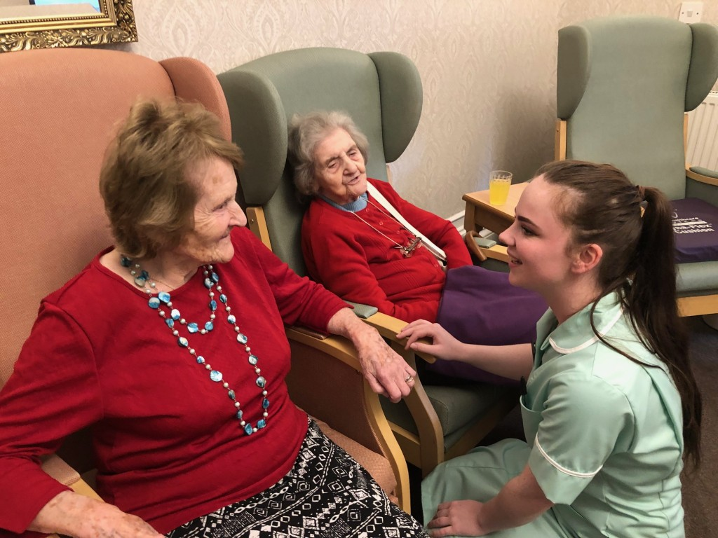 Attracting younger people into care