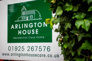 Arlington House Welcome Sign