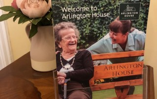 The new Arlington House brochure