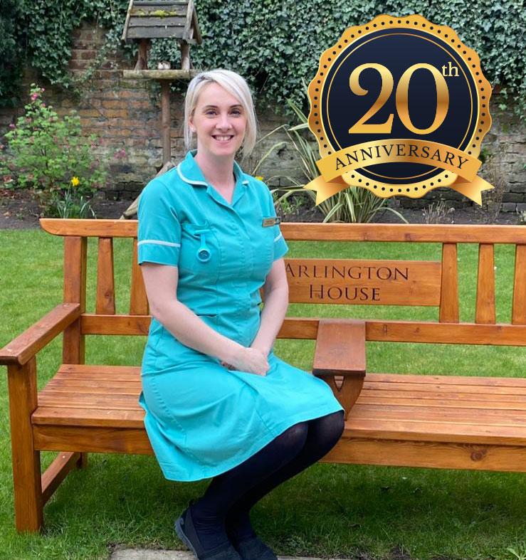 Kate Floyd celebrates 20 years at Arlington House